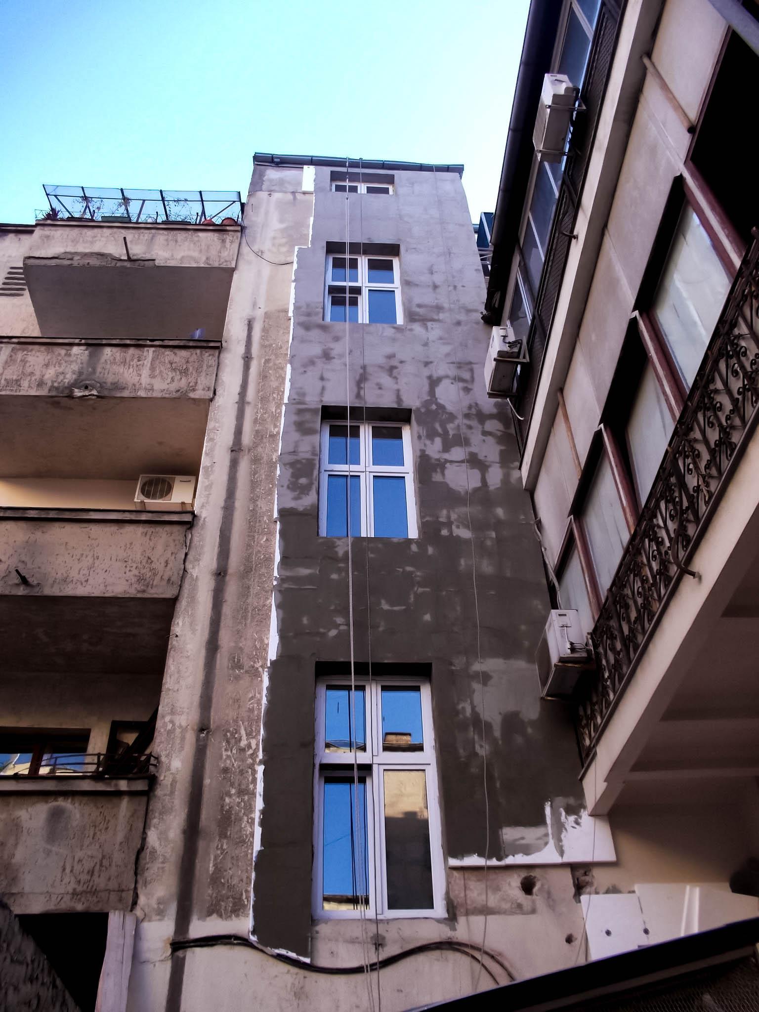 Ugradnja demit fasade, Visinski radovi Beograd - Alpinista.rs Aleksandar Mojsilovic 064 110 73 07