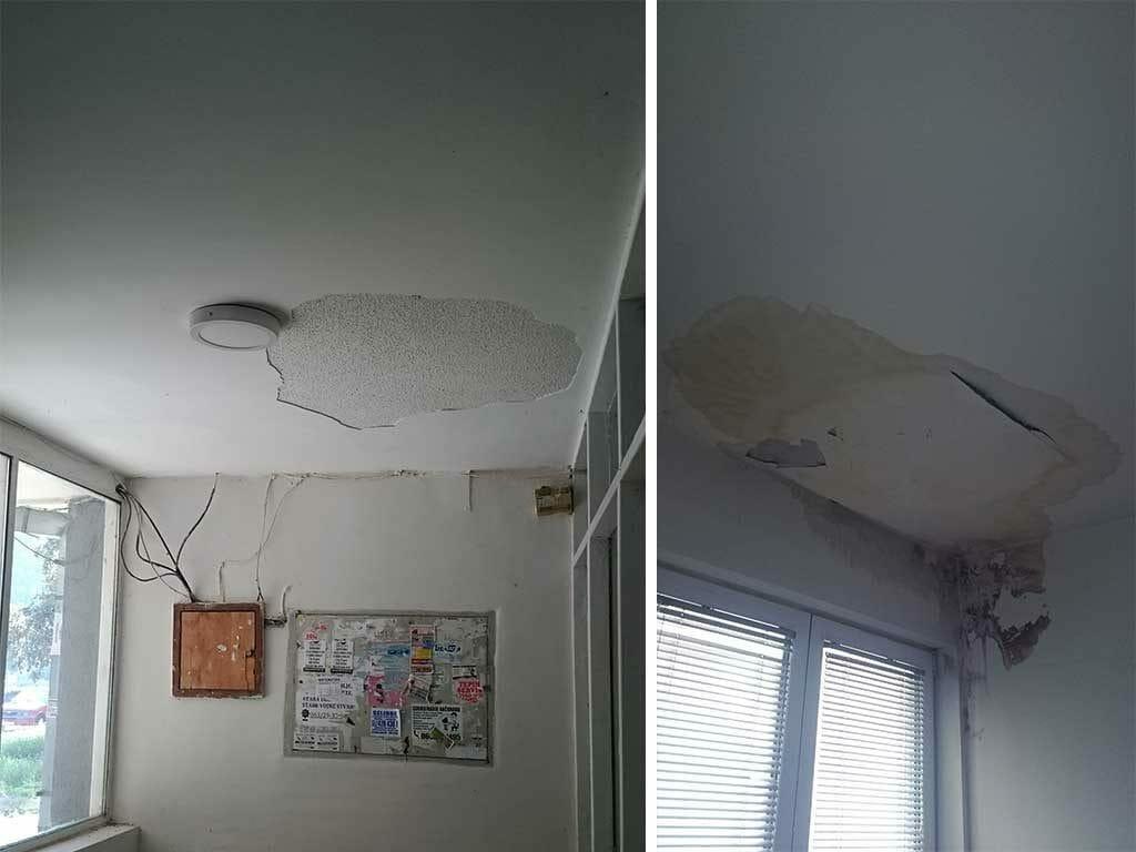 Sanacija prokisnjavanja sa krova